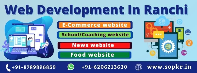 WEB DEVELOPMENT IN RANCHI